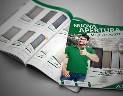 Anello Porte/Magazine/A4