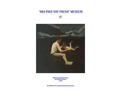 *404 Page Not Found Museum