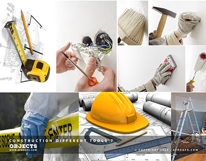 Construction Different Tools 7 - www.afrogfx.com