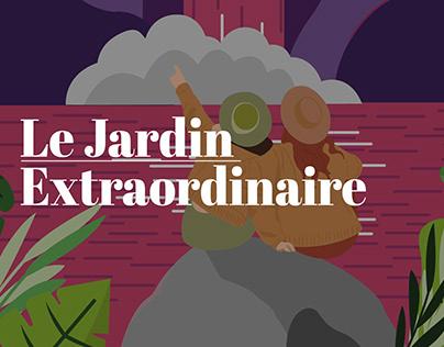 "Illustration ""Le jardin Extraordinaire"""