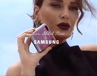 Cyrine X Samsung