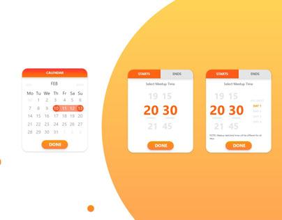 Calendar & Meetups