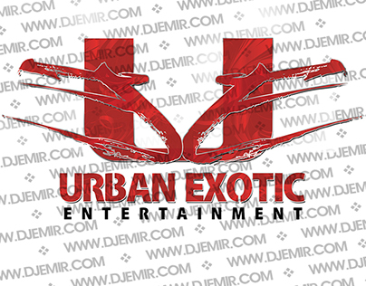 Urban Exotic Entertainment Logo Design