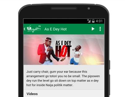 Wazobia TV App