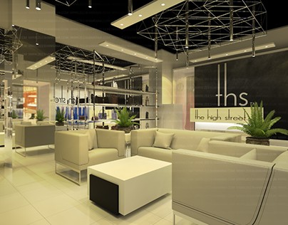 Showroom design THS