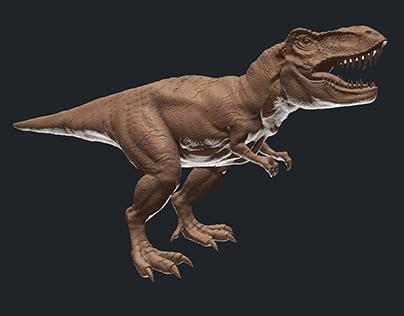 T-rex High Poly