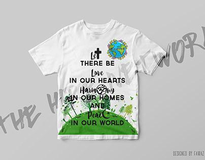 Harmony club T shirt Design