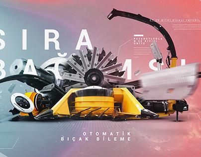 silaj makinası poster