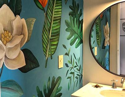 Toilet Mural