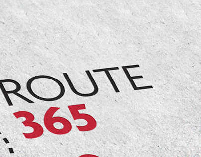 ROUTE 365 - Logo design