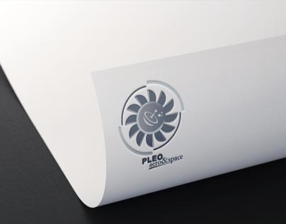 PLEO; aero&space | Logo Project