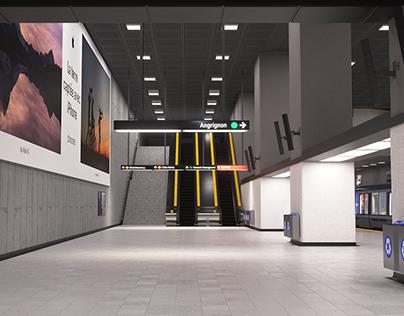 BerriUQAM Station - OoH