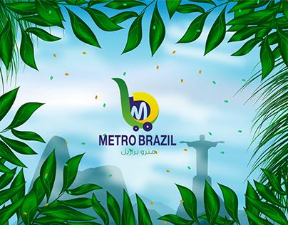 Metro Brazil - Online Shop Logo