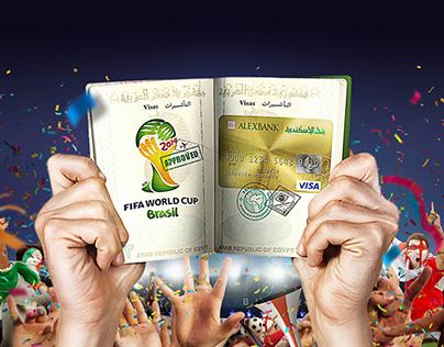 Alex bank world cup Visa