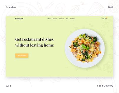 Grandeur — food delivery service | SPLIT Development
