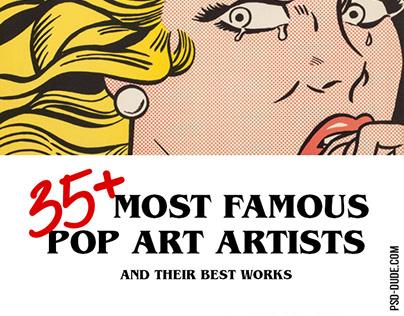 Famous Pop Art Artists