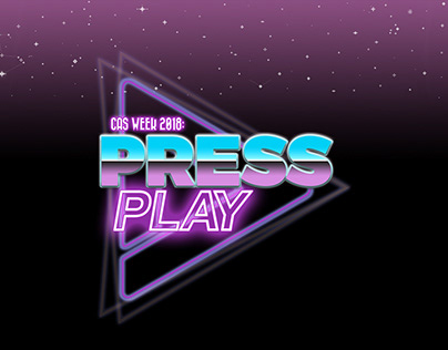 CAS WEEK 2018: PRESS PLAY / Branding