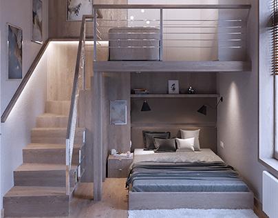 Cloudy room