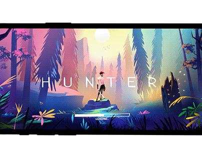 hunter (mobile interface)