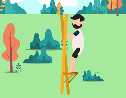 Egrang Traditional Game from Indonesia #motiondesign