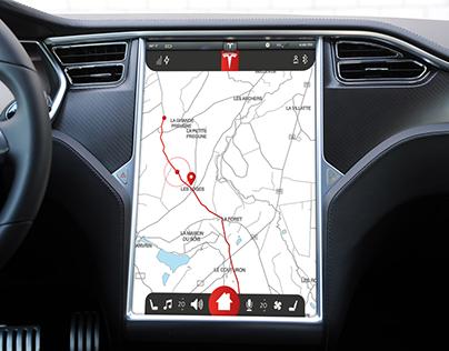 Tesla Travller App