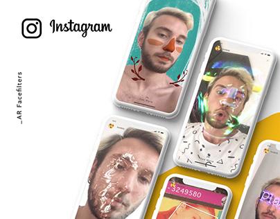 AR Face Filter Designs