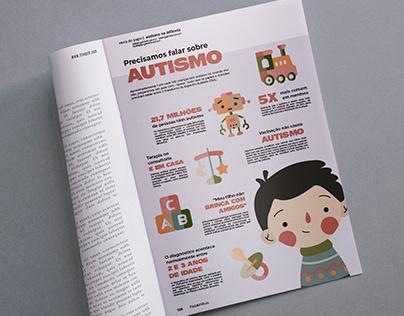 Precisamos falar sobre autismo   Infográfico