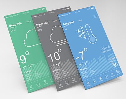 iOS App Weather Online