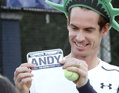 #Murrica: Andy Murray in New York