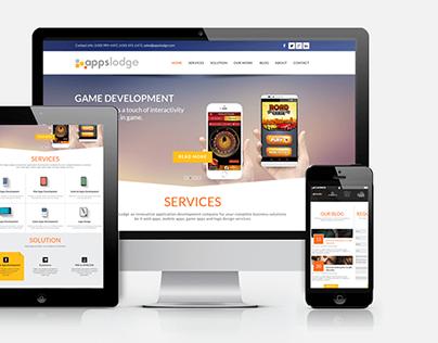 Appslodge IT Development Services Website