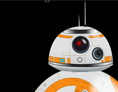 BB-8 animation test on AfterEffects (personal work)