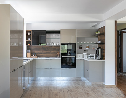 Kitchen design - Busteni, Romania