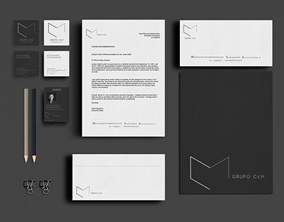 C&M // Logo and stationery design