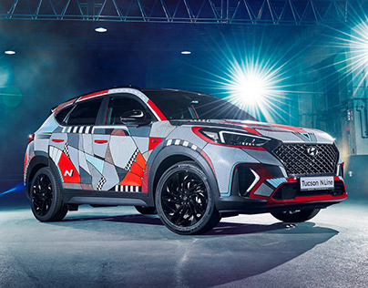 Hyundai // Painted Car // Tucson N Line