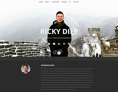 Ricky's Personal Website