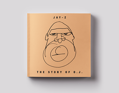JAY-Z - The Story of O.J. Cover Art Design
