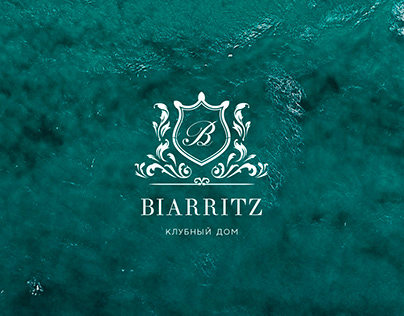 Logo design for Clubhouse Biarritz