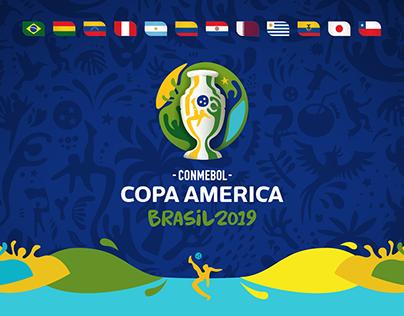 Copa América Brasil 2019 · Fixture