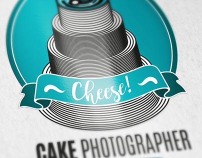 CHEESE! Logo design for a Cake Photographer.