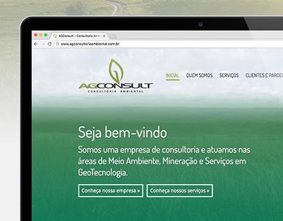 AG Consult - Consultoria Ambiental / WebSite
