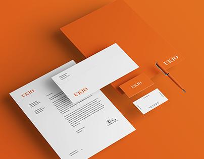 UKIO Logo and Store Branding Design