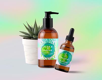 Flora & Fauna Cosmetics Branding