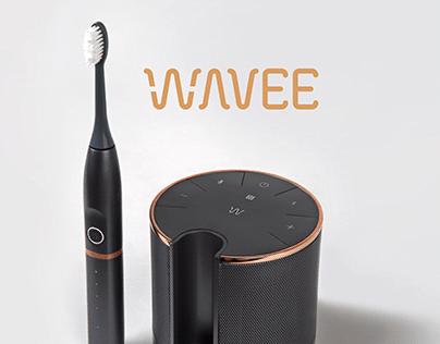 Wavee: Electric Toothbrush Smart Speaker System