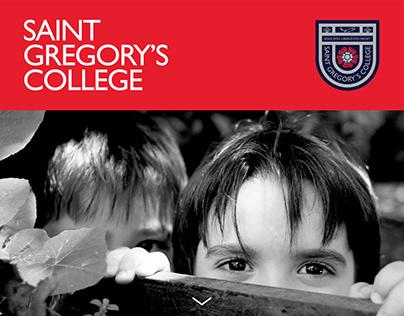 Saint Gregory's College - Website