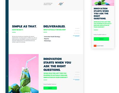 Redesign do site institucional • Epitrack