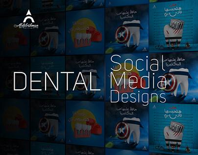 DENTAL social media designs collection