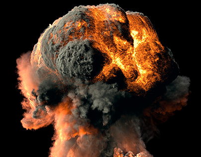 Big trotyl explosions