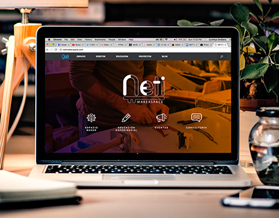 NETI Makerspace Website//