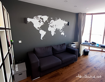 """Mural """"This is the World"""""""