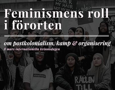 POSTER | Internationella kvinnodagen